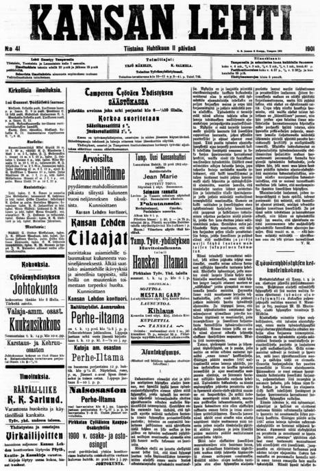 National Library - Digital Collections - Historical Newspaper Library | Liljeström | Scoop.it