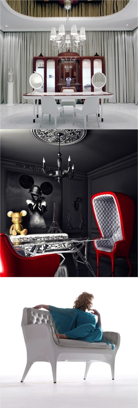 Faberge Salon | Hayon Studio | Home, cool home | Scoop.it