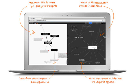 GroupMap - Online Group Brainstorming | Edtech for Schools | Scoop.it