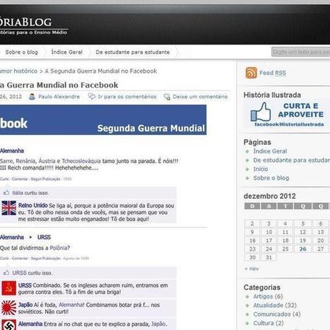 Professores usam redes sociais para 'compartilhar' fatos da história | Historia e Tecnologia | Scoop.it