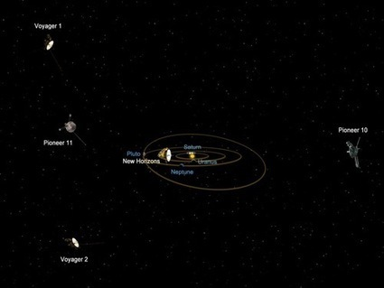NASA probe now closer than any other spacecraft to Pluto | Technoculture | Scoop.it