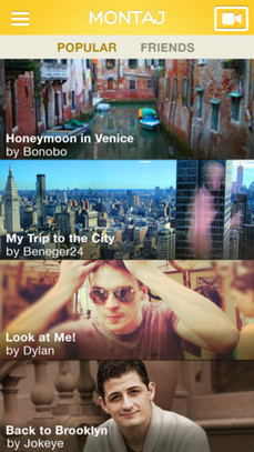 Laughing Squid Links • Montaj, A Shake-To-Edit Video App For iOS | Photo & Video 2 | Scoop.it