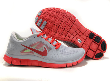 Best Place Nike Free Run 3 Mens Wolf Grey Gym Red Pink Coral Red | nike free pink | Scoop.it