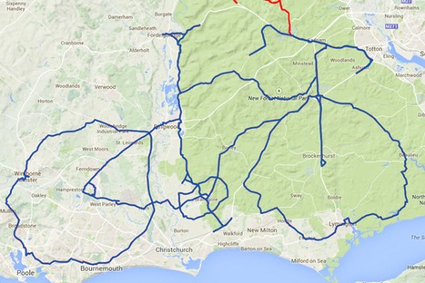 Rider creates massive bike on Strava - Cycling Weekly | cycling | Scoop.it