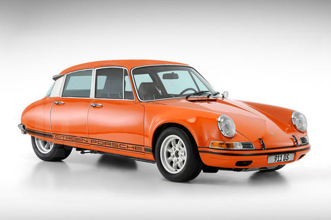 the perfect car: a porsche citroen 911 DS franken-sportscar | Art, Design & Technology | Scoop.it