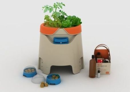 MOL hydroponic system connects beginners to farmers through web | Eco Chunk | Vertical Farm - Food Factory | Scoop.it