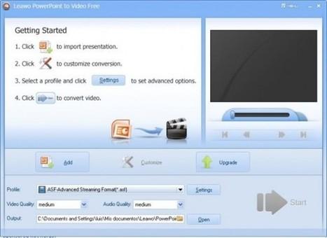 Cómo pasar tus presentaciones de PowerPoint a video con Free Leawo | Utilidades TIC para el aula | Scoop.it