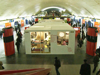 Check Out The Apartment IKEA Just Built In The Middle Of A Paris Metro Station | Psychology of Consumer Behaviour | Scoop.it