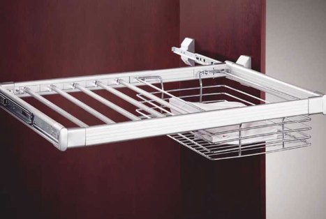 Adj-Trouser-Pull-Out-with-Shirt-Basket   Modular-Kitchen   Scoop.it