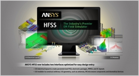 ANSYS HFSS | Synapse Product Development | Makers and Future Electronics | Scoop.it