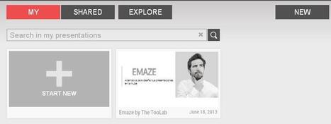 Emaze. Un nouvel outil pour créer des présentations pour la classe | Time to Learn | Scoop.it