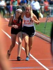 "Ohio teen runner helps carry competitor to finish  | ajc.com | Buffy Hamilton's Unquiet Commonplace ""Book"" 