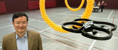 VIDEO: Mind-controlled quadcopter takes to the air | Engineer | Scoop.it