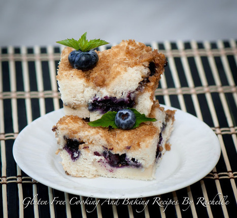 Gluten Free Cooking And Baking Recipes By Rachelle: Gluten-free Blueberry Streusel Cake | The Man With The Golden Tongs Hands Are In The Oven | Scoop.it