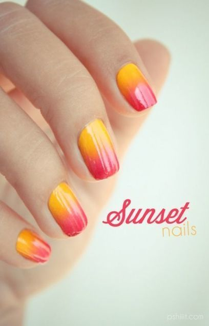 20+ Beautiful Color Nails That Will Shine All Summer Season 2015 | EntertainmentMesh | Scoop.it