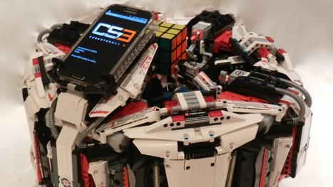 Lego Robot Solves Rubik's Cube In 3.253 Seconds | idesruption | Scoop.it