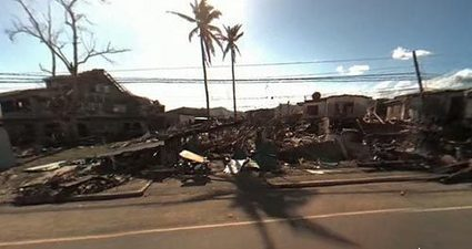 Interactive video: Typhoon Haiyan's aftermath   What's new in Visual Communication?   Scoop.it