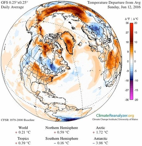 Surface #melting of snow and ice in #Greenland explodes as temperatures soar to record levels #climate | Messenger for mother Earth | Scoop.it