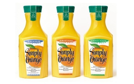Coca-Cola's 'Simply Orange' Juice Is Anything But | The Politics of Food | Scoop.it