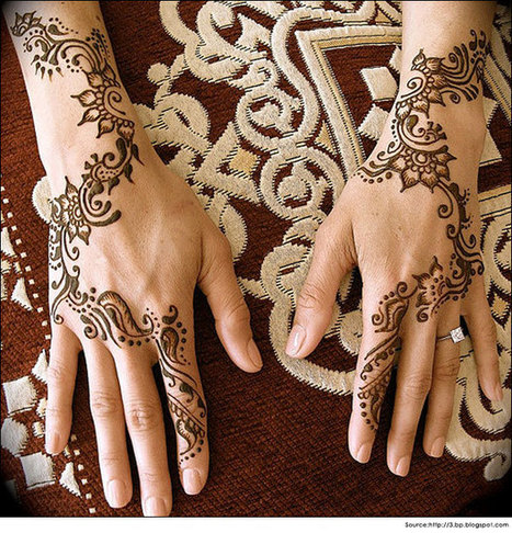 Top 18 Latest Arabic Mehndi Designs for Hands - 2014 | Health and Wellness | Scoop.it