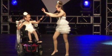 Hermanas en sillas de ruedas ofrecen inolvidable rutina de baile | La calidad de vida | Scoop.it
