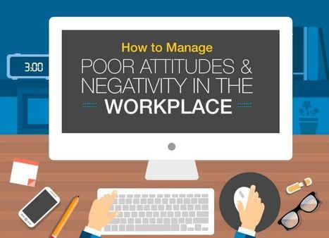 [Infographic] How to Manage Poor Attitudes and Negativity in the Workplace | Serious Play | Scoop.it