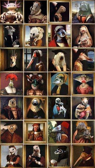 abécédaire des animaux peu connus à la renaissance | Frans en mixed media | Scoop.it