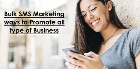 Bulk SMS Marketing ways to Promote all type of Business | Travel portal development company in India | Scoop.it