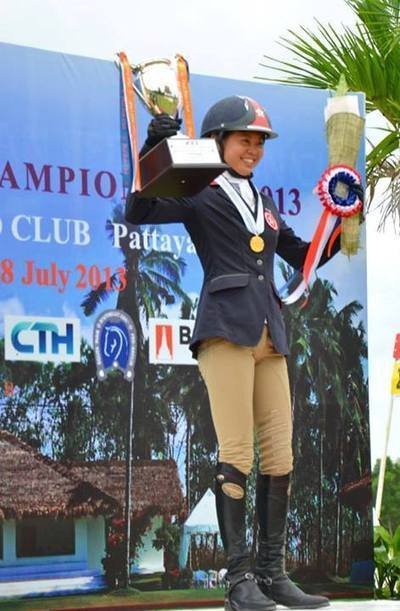 Prize Presentation to the First Asian Eventing Champion!   Facebook   MERAVIGLIA Ltd   Scoop.it