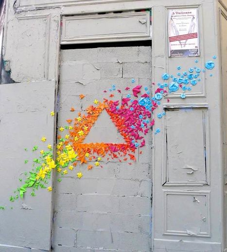 Mademoiselle Maurice – Street Art et Origami | Du fait main & some handmade | Scoop.it