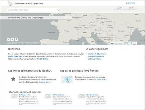 arcOrama: ArcGIS Open Data (1/3) | Veille Open Data 05 | Scoop.it