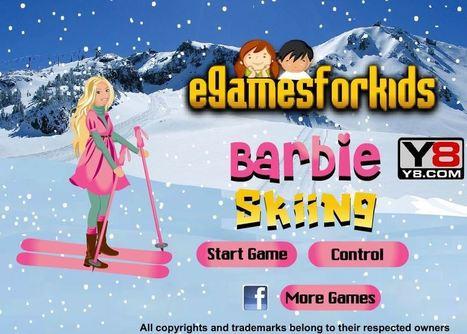 لعبة تزلج باربي | العاب تلبيس بنات | Scoop.it