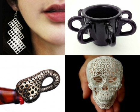 3D Printing, Shapeways, and the Future of Personal Products - Forbes | On 3D-printing and the home factory | Scoop.it