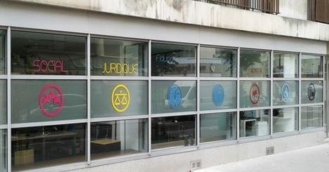 Le blog de Graphic'Arts: Adhésif dépoli pour la façade de Fiducia Experts | Lettrage adhésif et impression numérique | Scoop.it