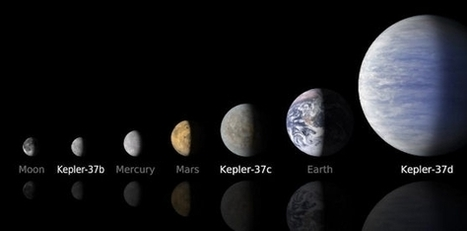 Kepler Discovers a System of Tiny Planets   Amateur and Citizen Science   Scoop.it