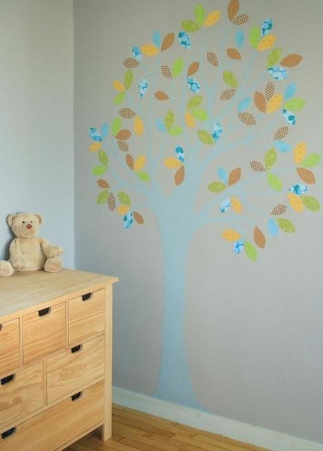Arbre mural | Bricolage pour mes enfants | Scoop.it