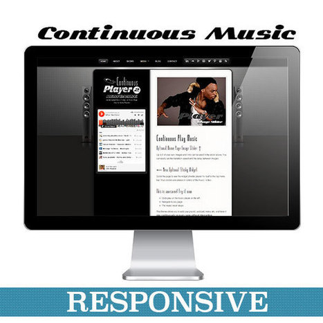 Continuous Player 2 (Responsive) - Aloha Themes | WordPress Music Themes | Scoop.it