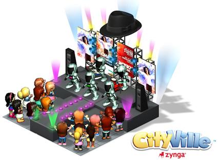 Michael Jackson Immortal World Tour attending CityVille on Facebook | Social Music Gaming | Scoop.it