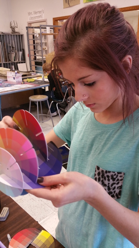 A Revolutionary Tool for Teaching Color | The Art of Ed | art | Scoop.it