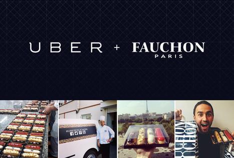 Fauchon s'associe à Uber pour sa stratégie #web2store | Mobile technology & Digital business | Scoop.it