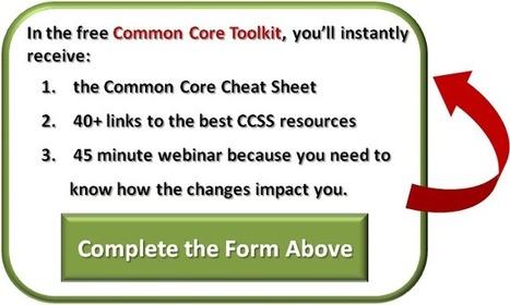 The Common Core E/LA Toolkit | Common core | Scoop.it
