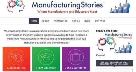 Manufacturing Stories | Showcase of custom topics | Scoop.it