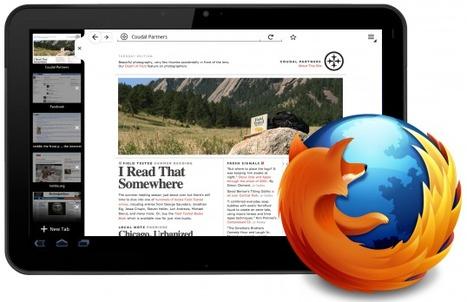 Firefox para Tablets Android - El Android Libre | Aplicaciones móviles: Android, IOS y otros.... | Scoop.it