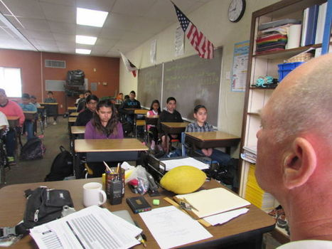 Guadalupe students practicing mindfulness | Mindfulness in Education | Scoop.it