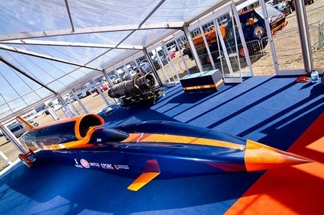 Bloodhound: auto supersonica da 1600km/h [FOTO] | News of the Web | Scoop.it