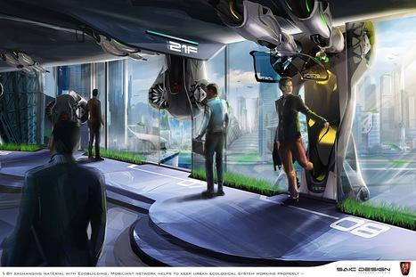 La symbiose inspire un concept futuriste de transport urbain - Biomimesis   libraries and Learning spaces   Scoop.it