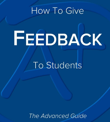 How to give feedback to students | La didactique au collégial | Scoop.it