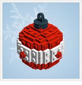 Plans libres de décorations de Noël en Lego | Actus vues par TousPourUn | Scoop.it