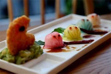 Holi recipe: Colourful Pacman dumplings - The Times of India | food geography | Scoop.it