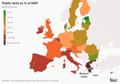 12 charts and maps that explain the Greek crisis | Archivance - Miscellanées | Scoop.it